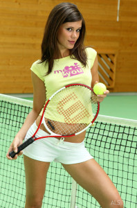 Little Caprice in Cause a Racquet