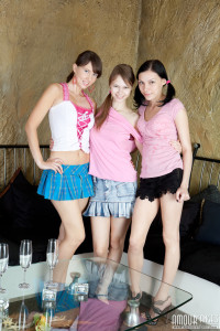 Hot teen party