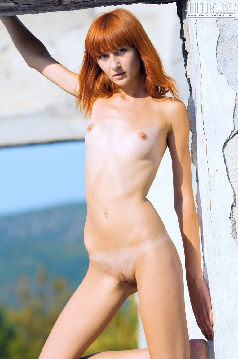 Petite redhead naked sorry, that