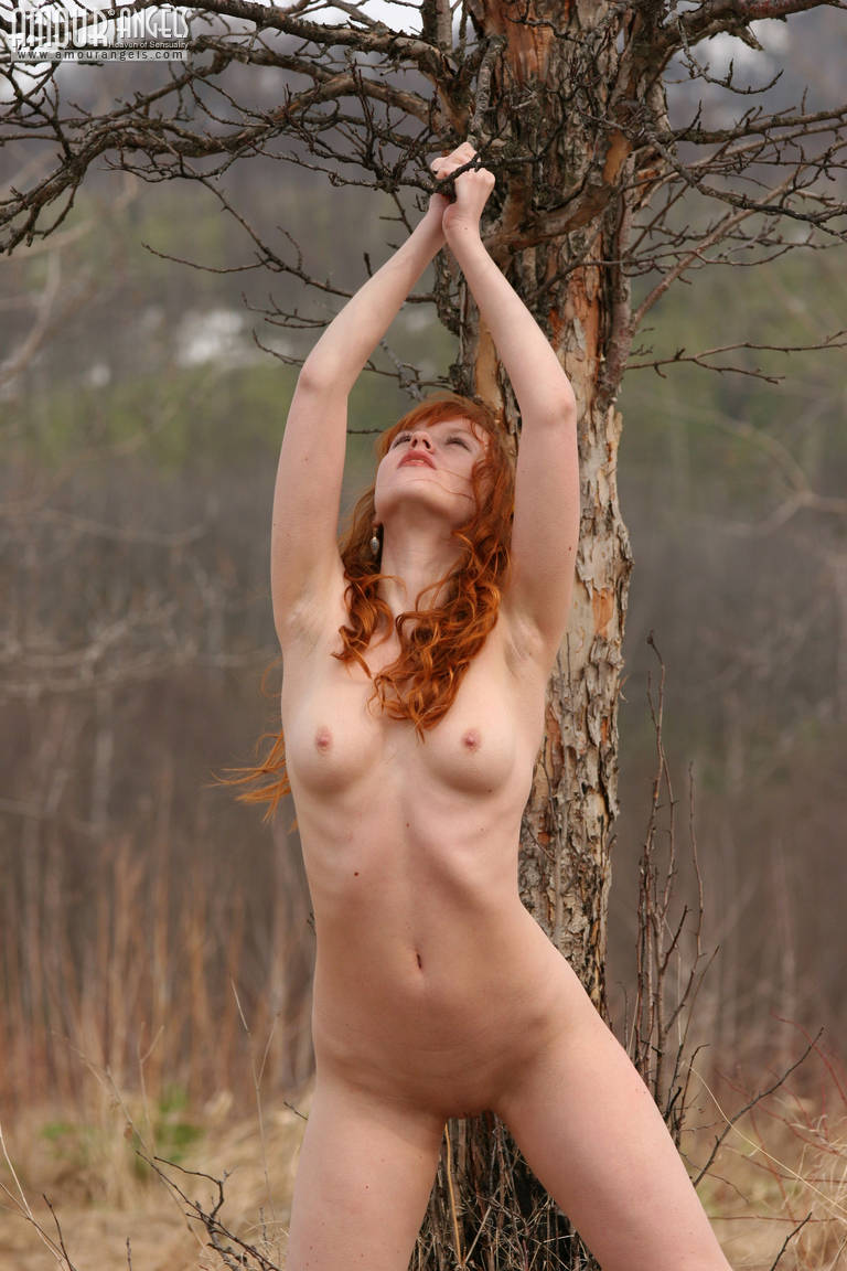 Red-Haired Nude Nymph-1320