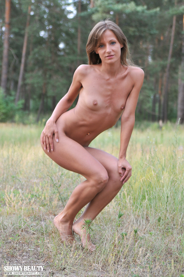 small breasted girl naked