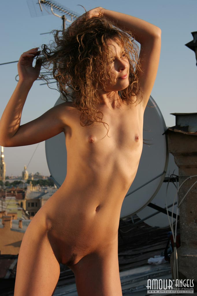 Unusual Nude Sunbathing-4911