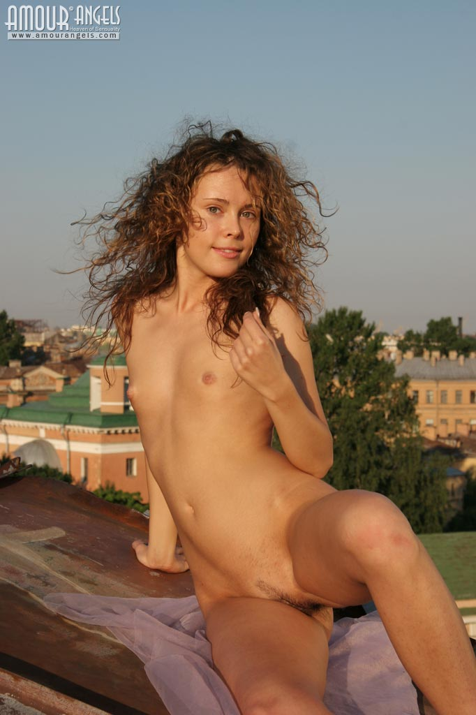 Unusual Nude Sunbathing-3620