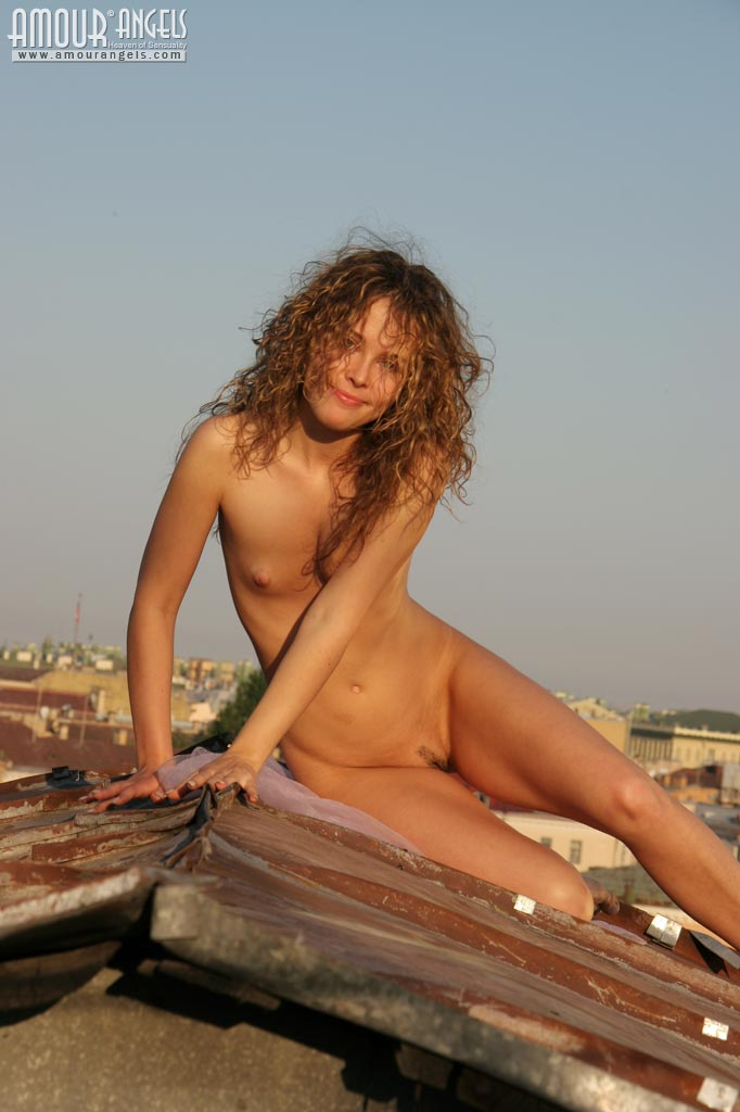 Unusual Nude Sunbathing-7406