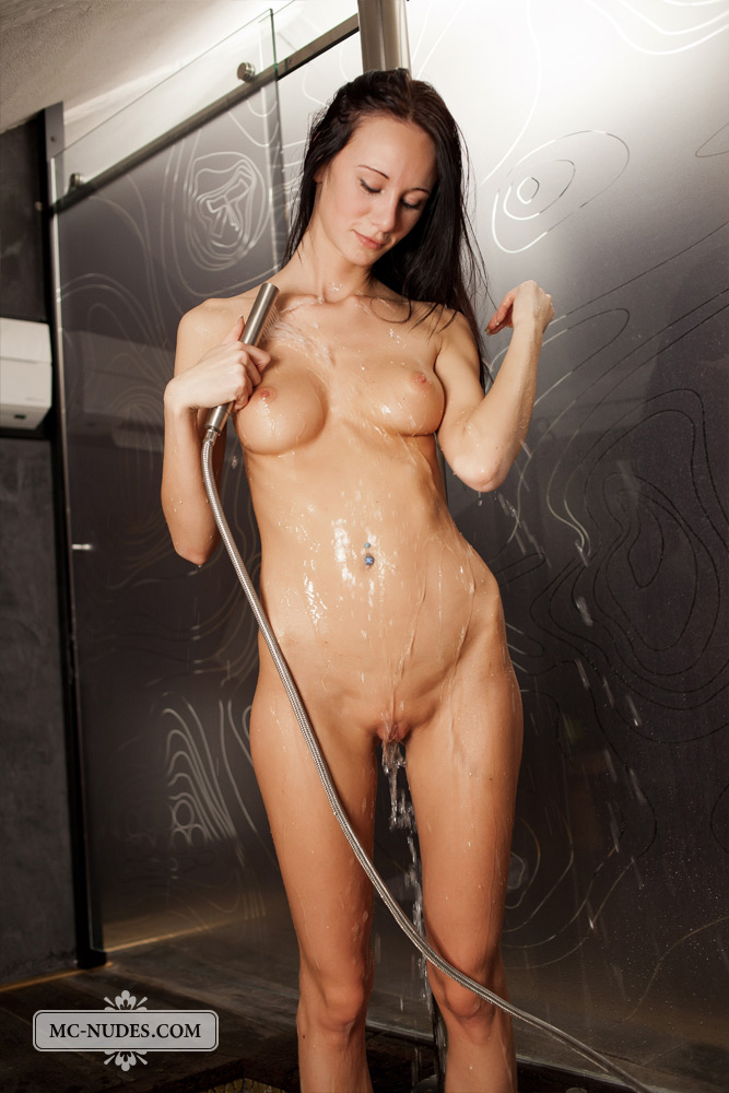 sexy girls take a shower