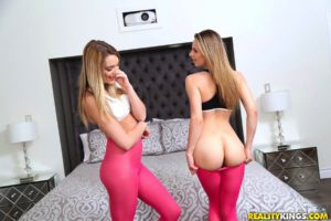 WeLiveTogether scene Ass Attraction featuring Jillian Janson and Kenna James