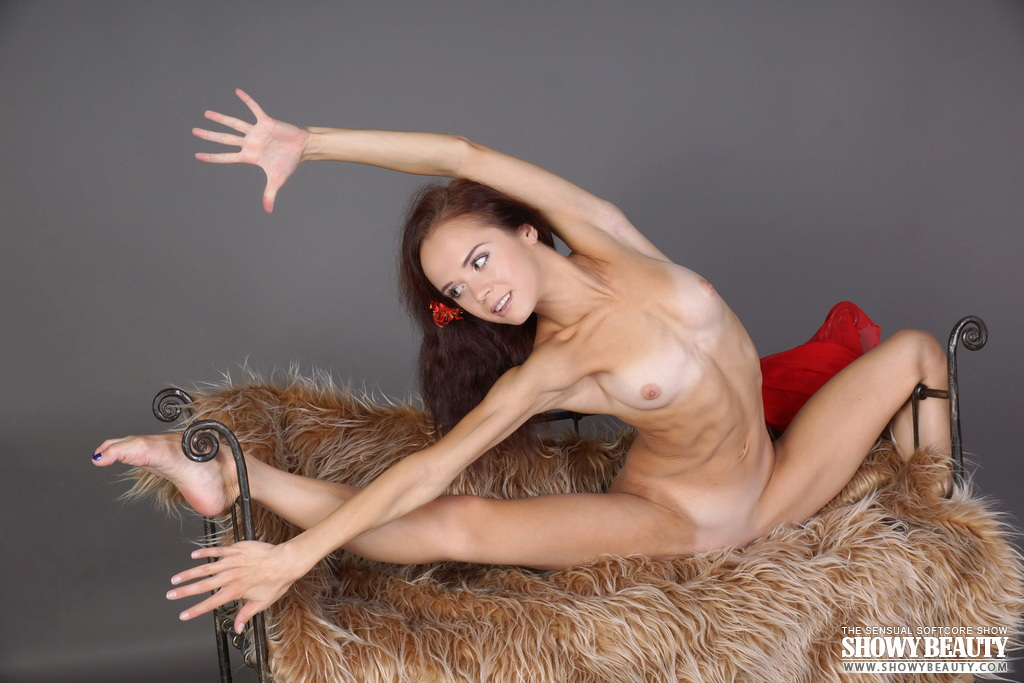 naked nude elastic woman