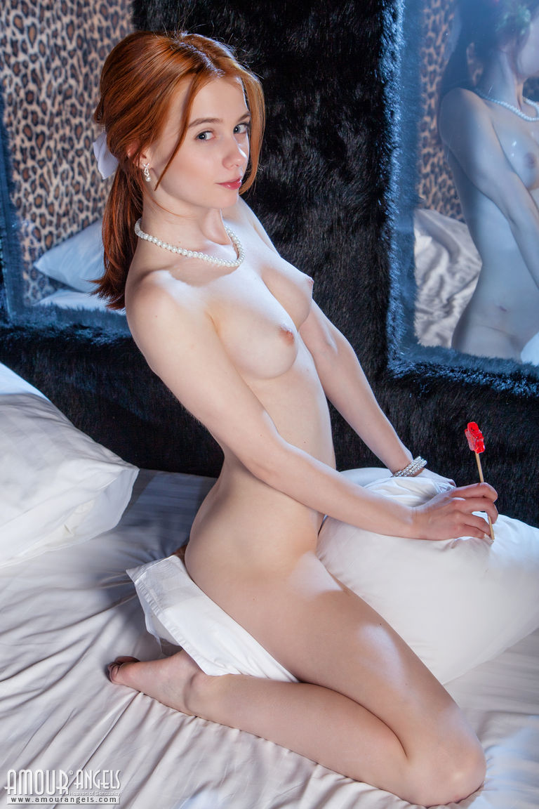 Your hot sexy redhead pussy think