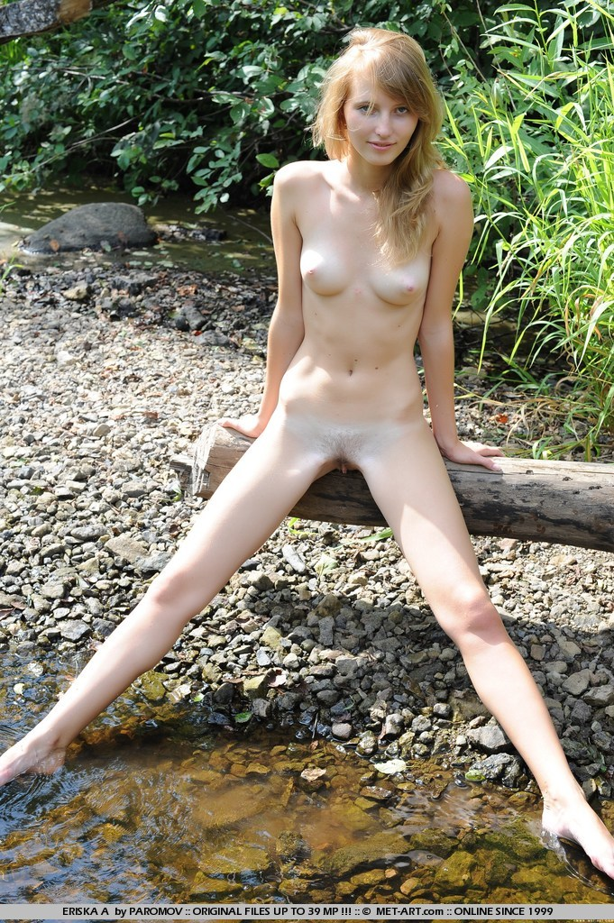 youthful nude beauty outside