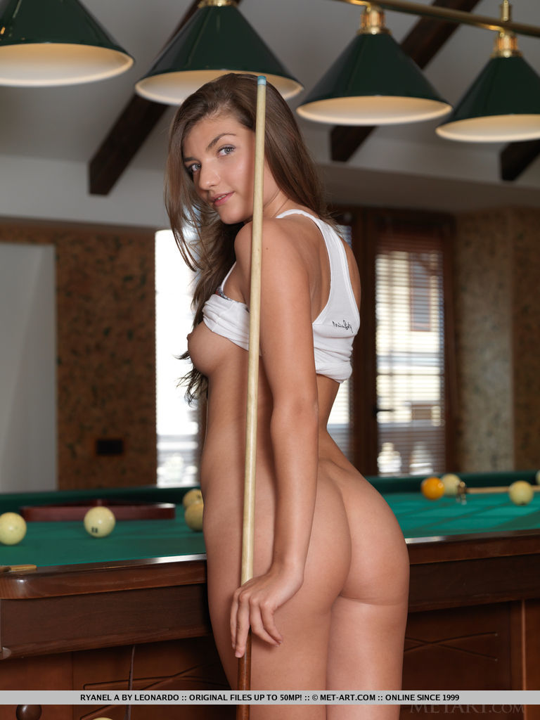 Can suggest naked girl on pool table you were