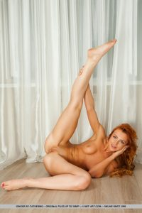 MetArt model Ginger in Triacel by Catherine