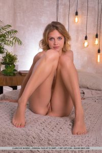 MetArt model Clarice in The Lights by Nudero