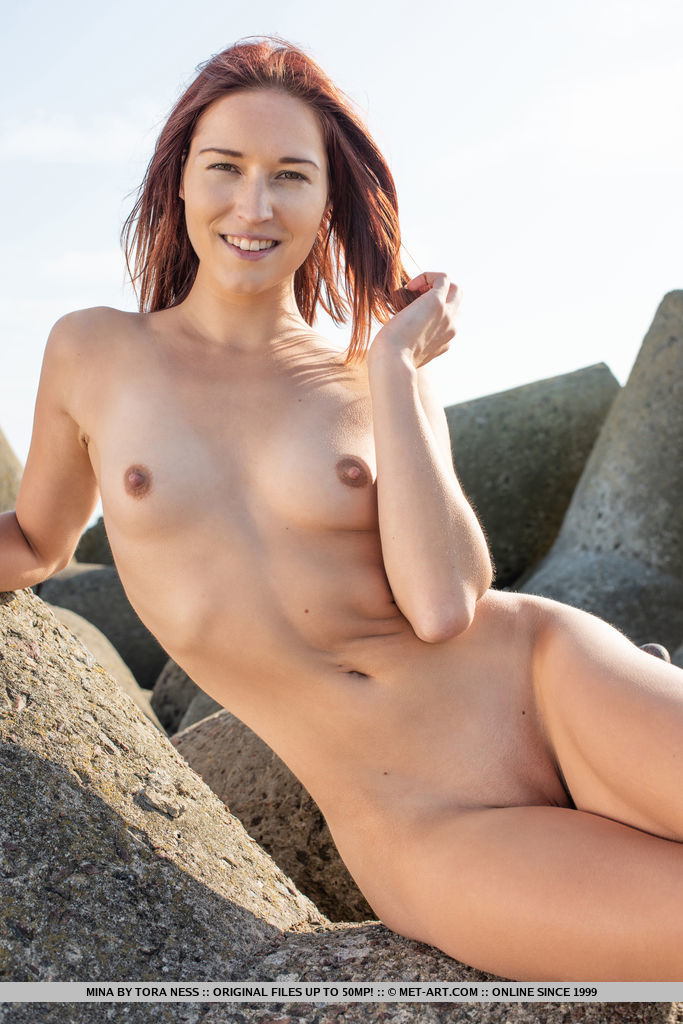 Metart Model Mina In Day At The Pier By Tora Ness-5939