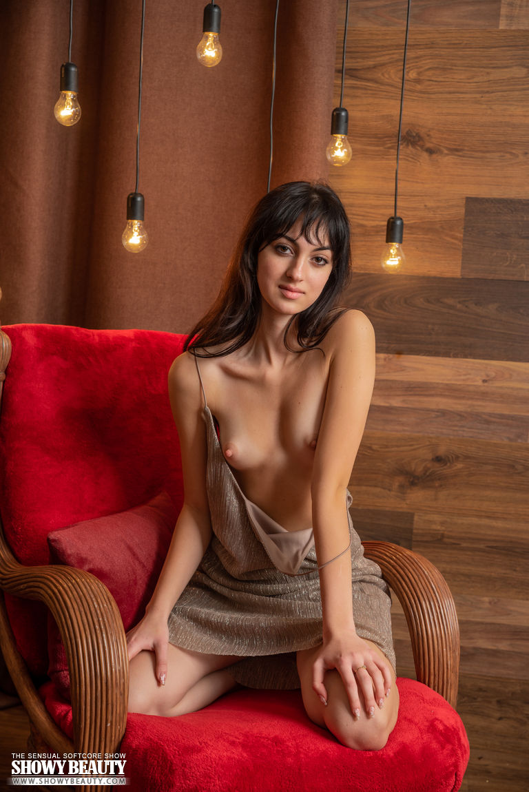 Hottest cutie gets naked